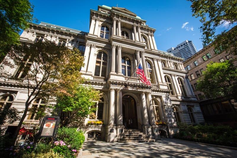Старый здание муниципалитет, Бостон стоковое фото rf