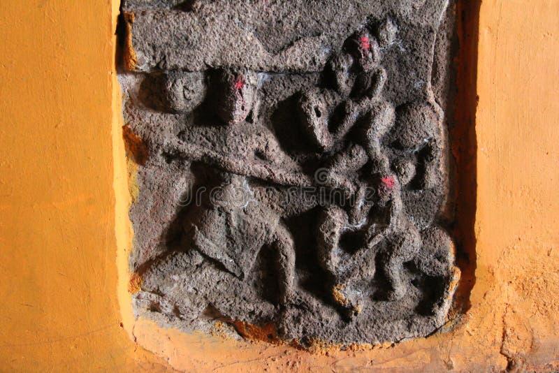 Старый иероглиф стоковые изображения rf
