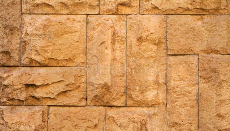 Старый камень помещенный в backgroun стены, интересных и первоначально стоковая фотография rf