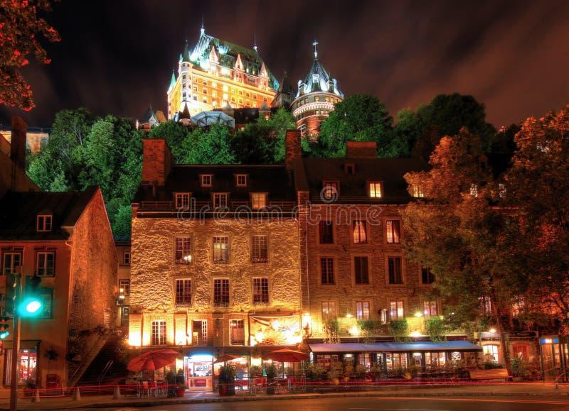 старый Квебек стоковые фотографии rf