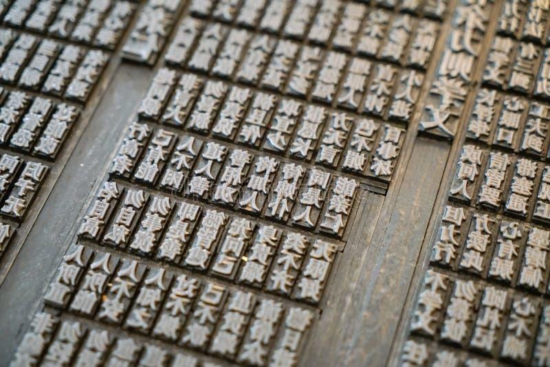Старый китайский тип система стоковое изображение