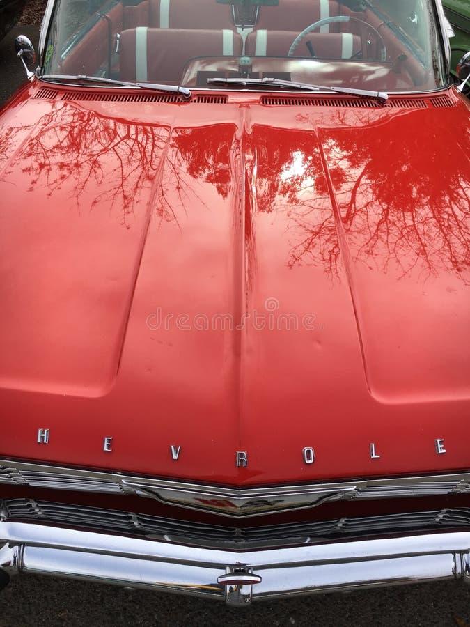 Старый классический американский автомобиль стоковая фотография rf