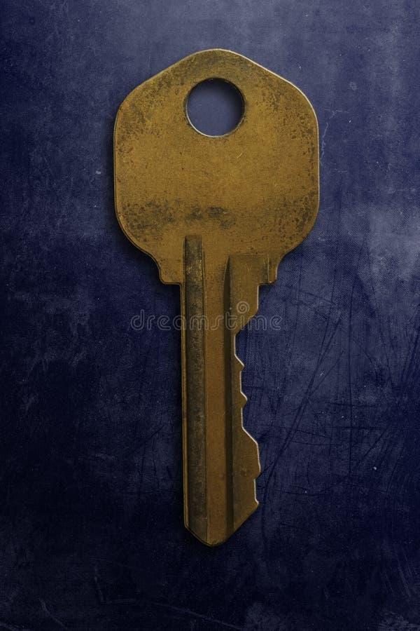 Старый ключ Стоковые Изображения