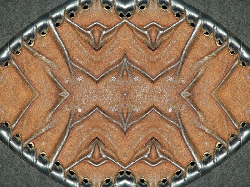 Старый кожаный конспект стоковые изображения