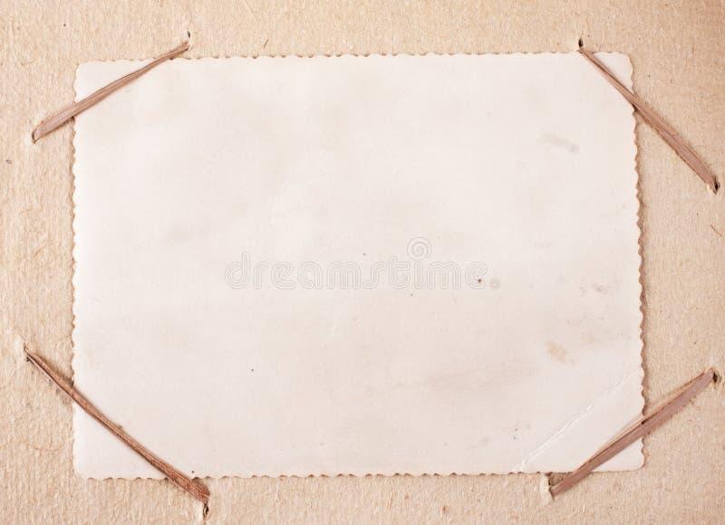 Старый конец рамки фото вверх стоковое фото rf