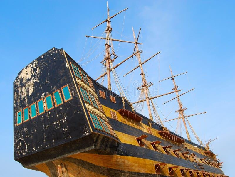 старый корабль стоковое фото rf