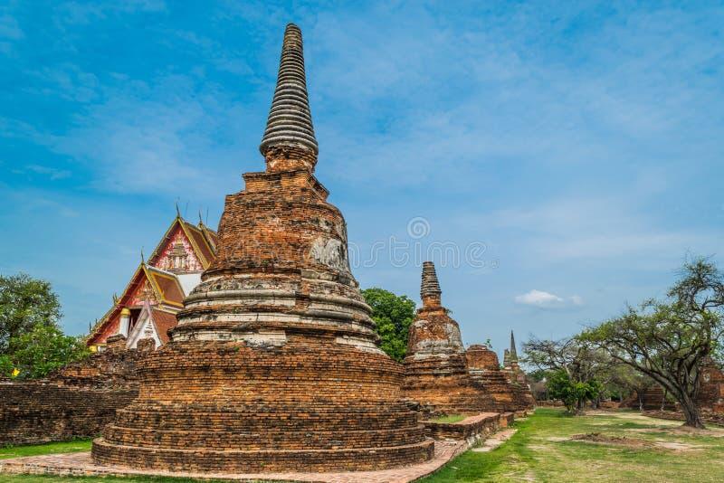 Старый королевский дворец в Таиланде стоковое фото rf