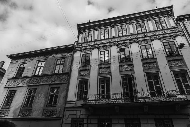 Старый красивый город стоковые изображения
