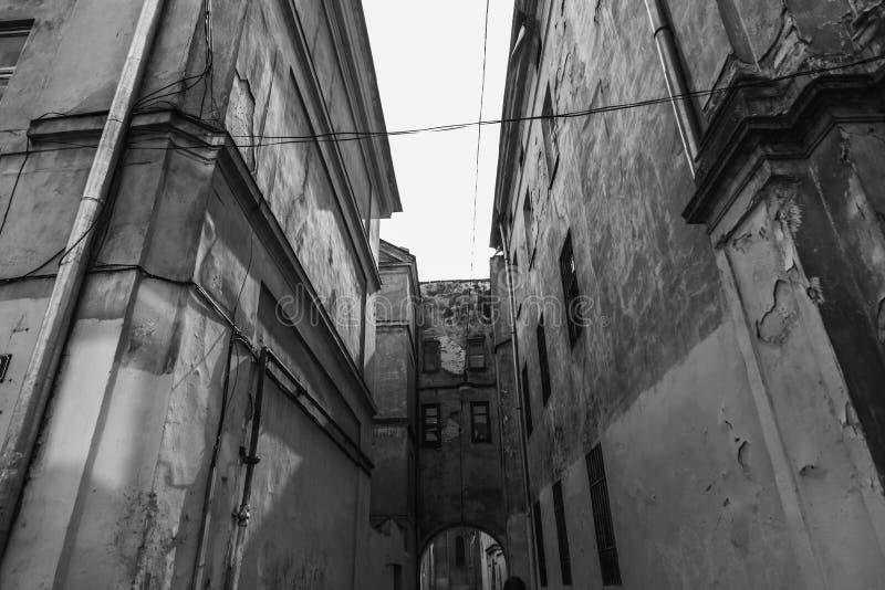 Старый красивый город стоковое изображение