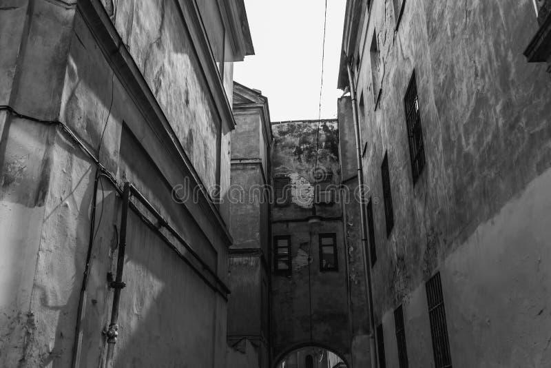 Старый красивый город стоковые фото