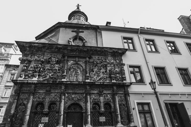 Старый красивый город стоковая фотография