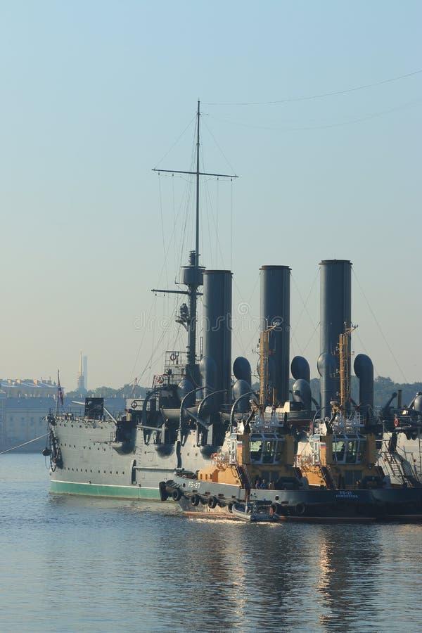 Старый крейсер стоковые изображения rf