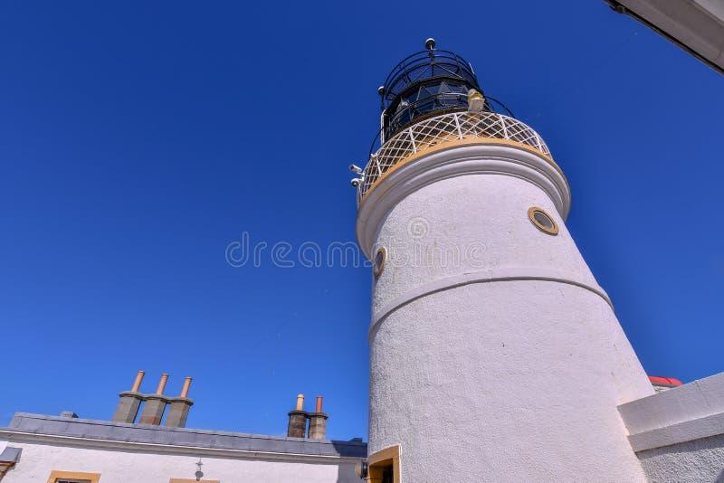 Старый маяк на голове Sumburgh стоковые фото