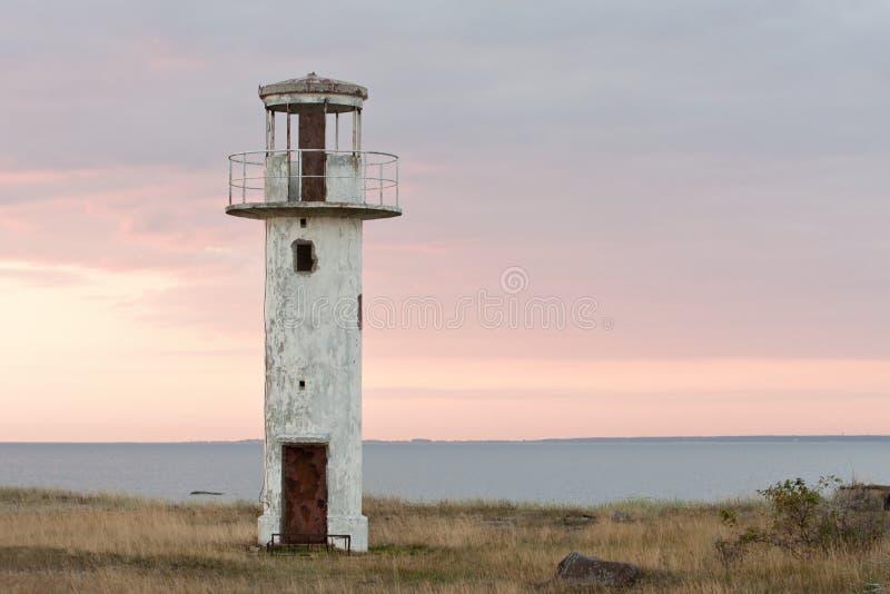 Старый маяк стоковые фото