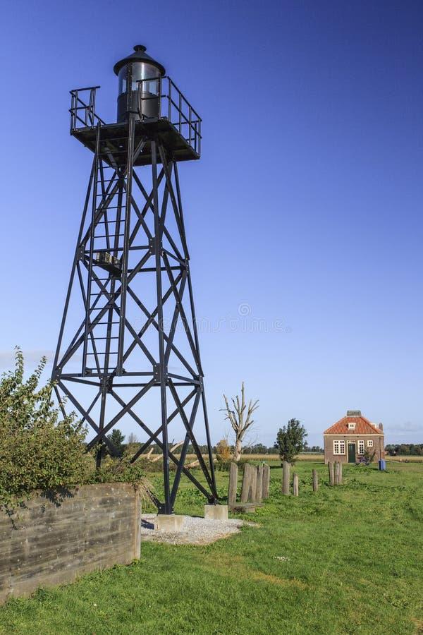 Старый маяк стоковые изображения
