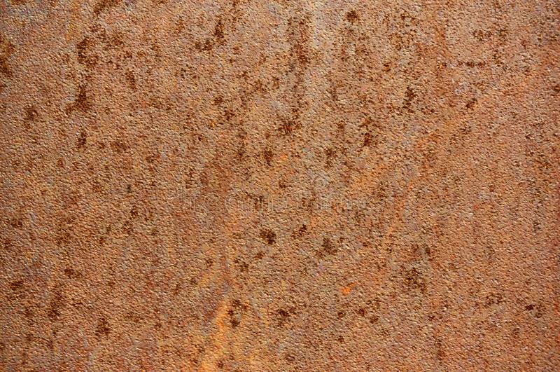 Старый металлический лист утюга с предпосылкой конспекта ржавчины стоковое фото