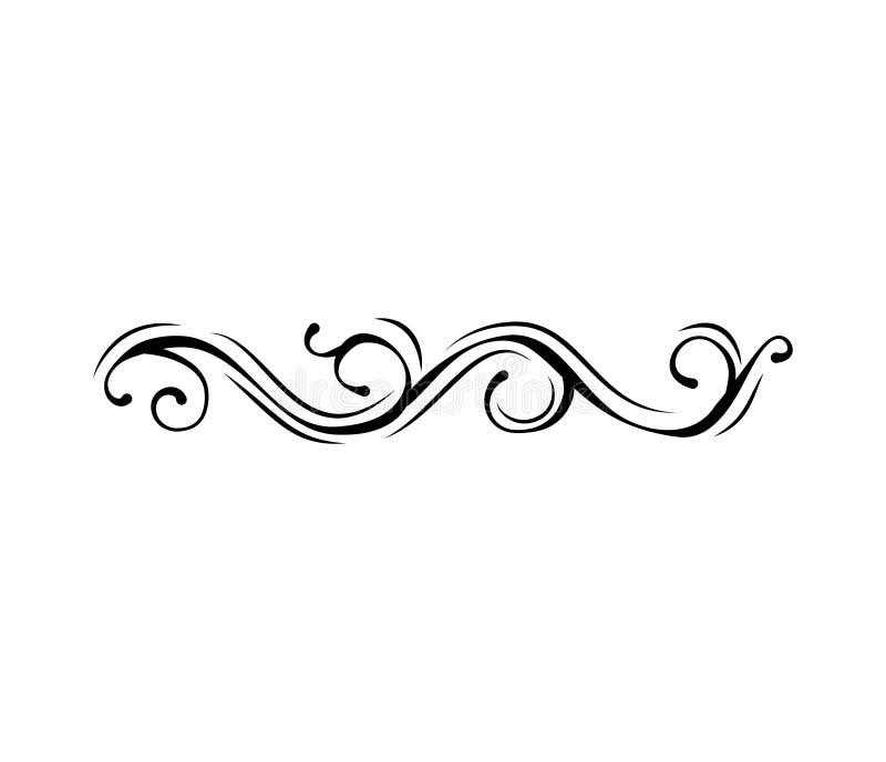 Старый милый романтичный книги ленты смычка элемент swoosh бирки swirly также вектор иллюстрации притяжки corel иллюстрация штока