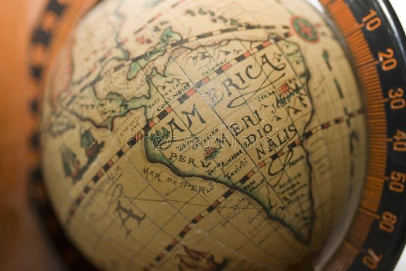 Старый Мир америки стоковое изображение rf