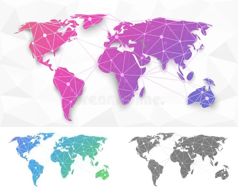 Старый Мир карты иллюстрации бесплатная иллюстрация