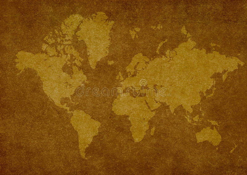Старый Мир карты бесплатная иллюстрация
