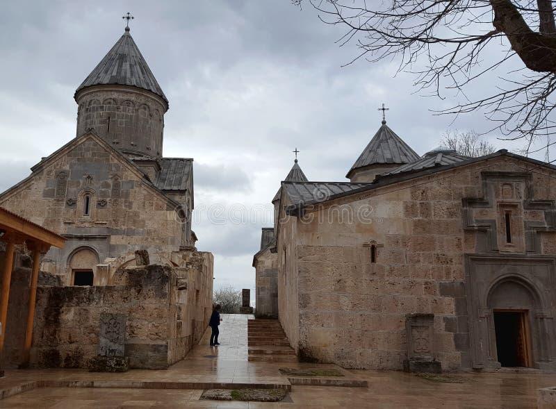 Старый монастырь Haghartsin, Dilijan, Армения стоковое фото