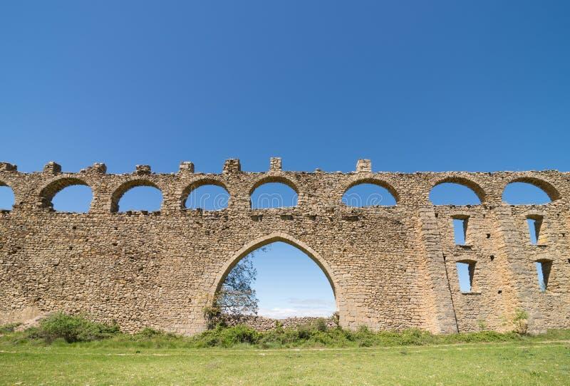 Старый мост-водовод стоковая фотография rf