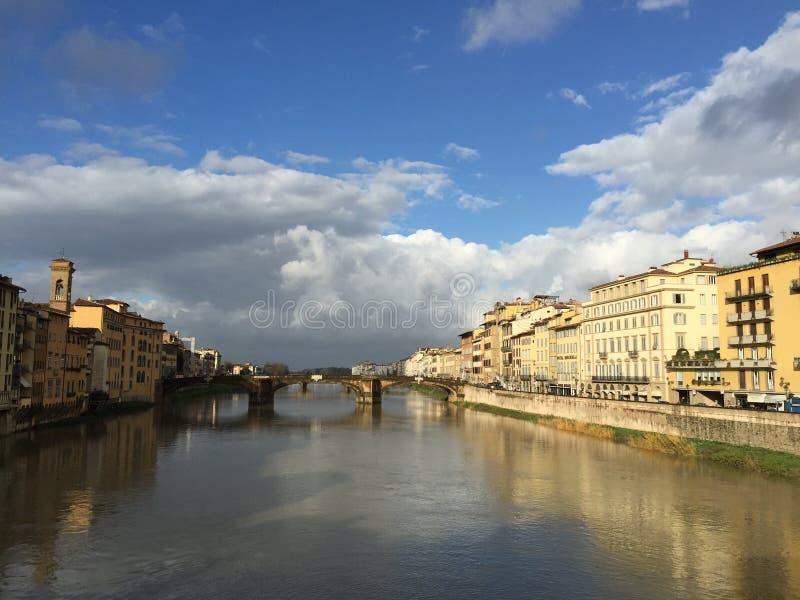 Старый мост Флоренс стоковая фотография