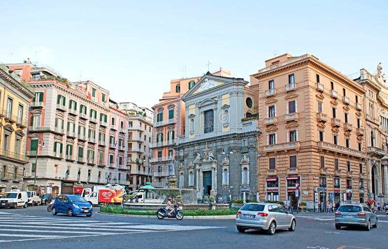 Старый Неаполь стоковые изображения
