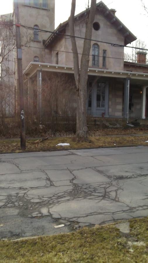 Старый дом престарелых стоковая фотография rf