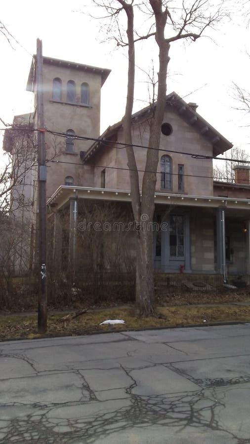 Старый дом престарелых стоковое фото rf