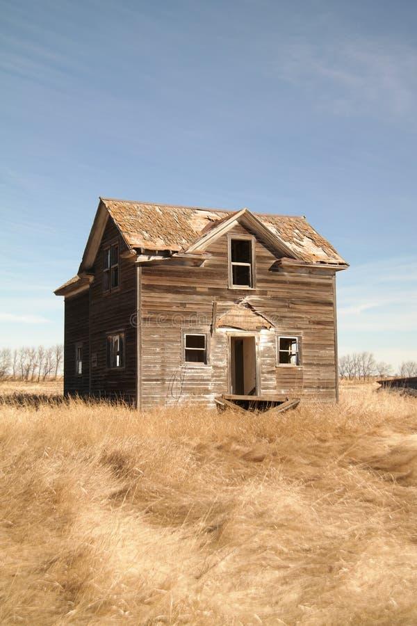 Старый дом 2 рассказов стоковое фото rf