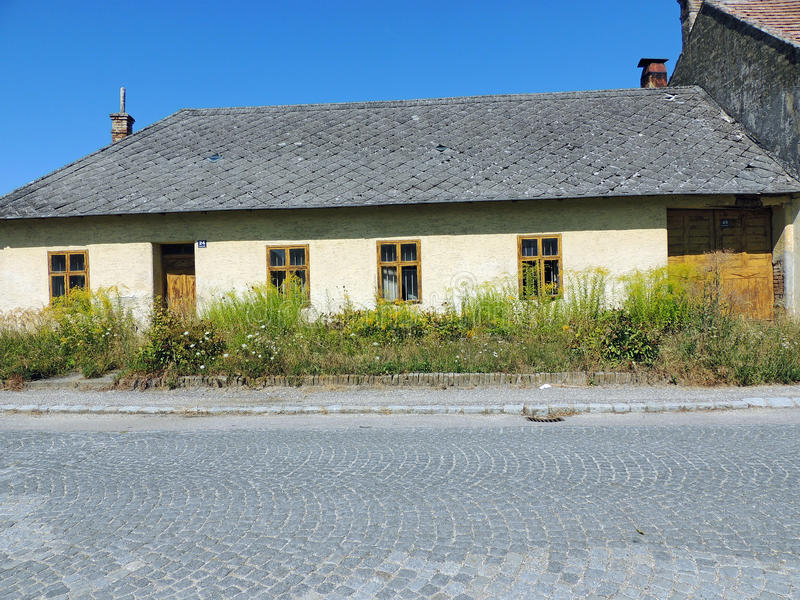 Старый дом стоковое изображение