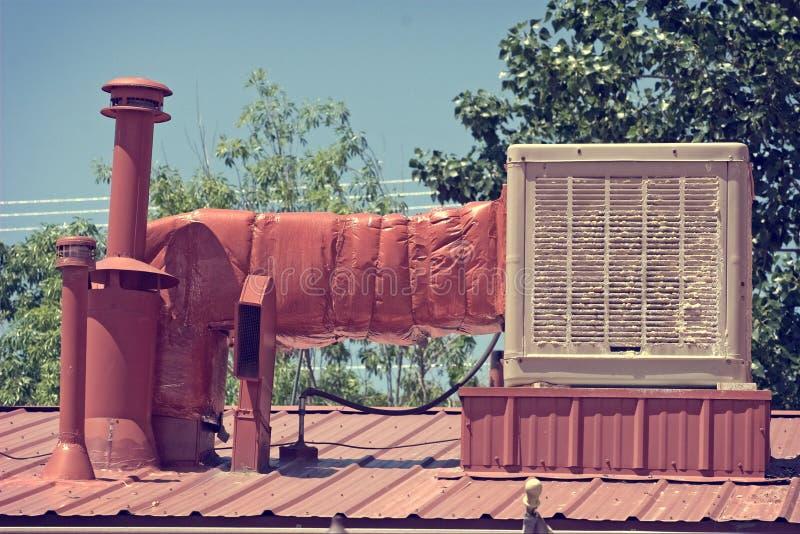 Старый охладитель болота в Неш-Мексико стоковые изображения