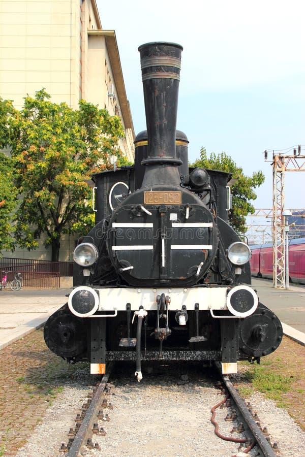 Старый паровоз пара стоковое изображение rf