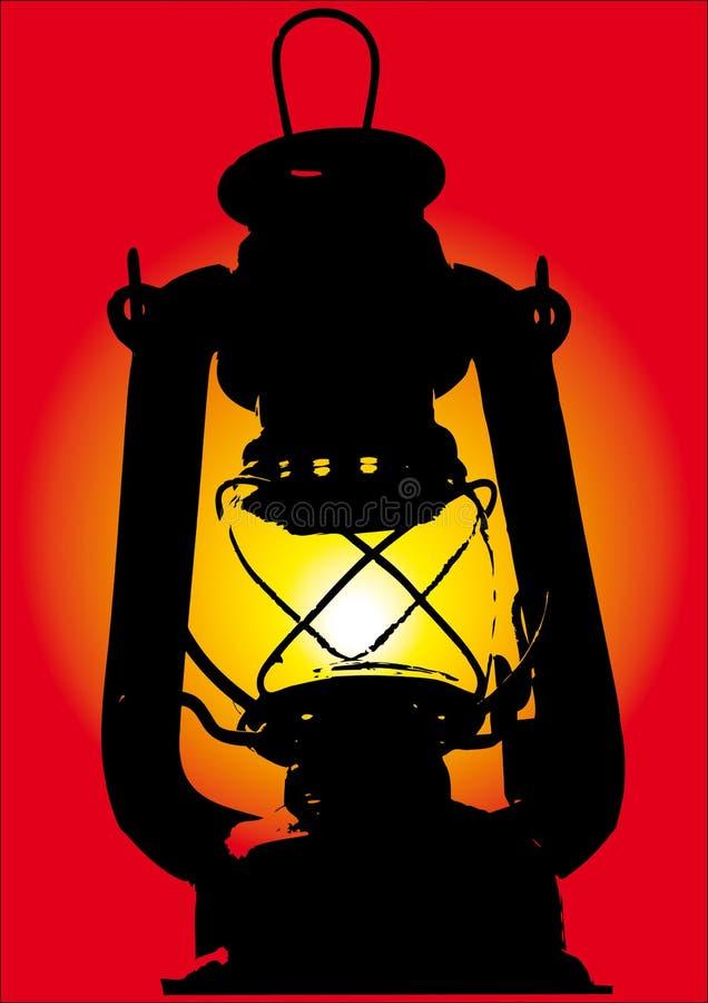 старый петролеум иллюстрация штока