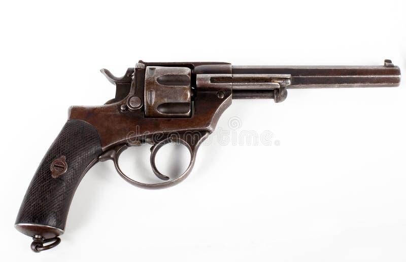 старый пистолет стоковое изображение rf