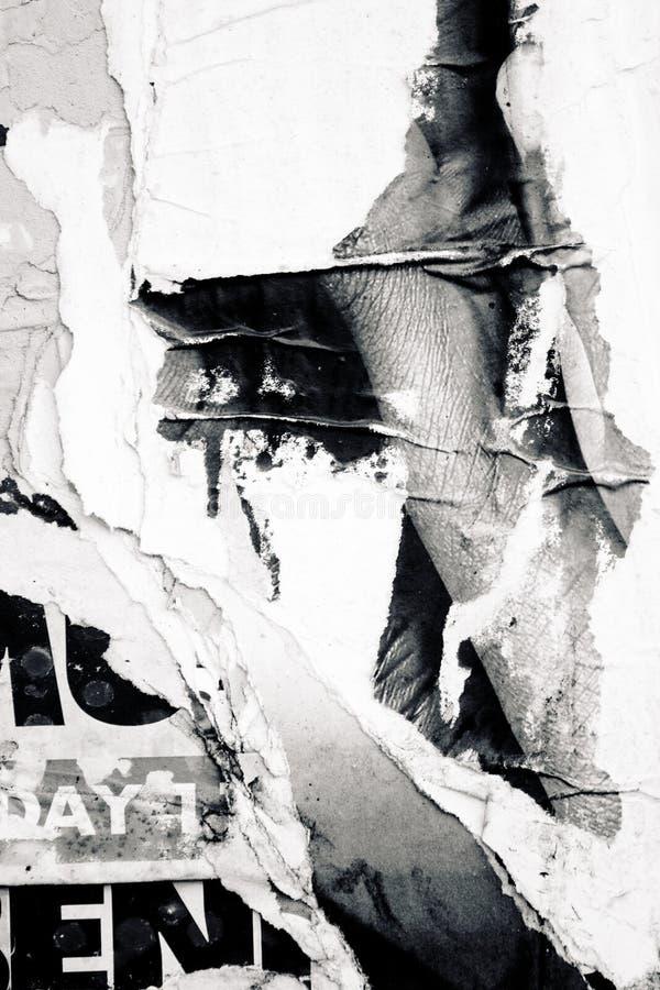 старый плакат стоковое фото