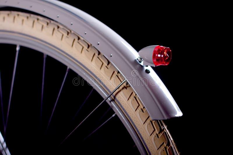 Старый приведенный ретро велосипед - детали стоковая фотография rf