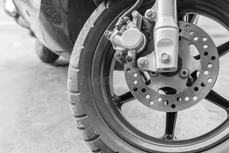 Старый пролом диска мотоцикла стоковое изображение