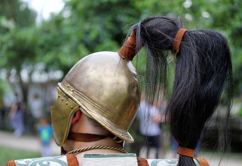Старый римский солдат стоковые изображения