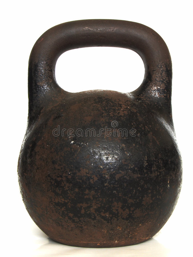 старый русский вес стоковая фотография rf
