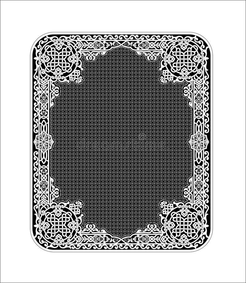 старый русский орнамента иллюстрация штока