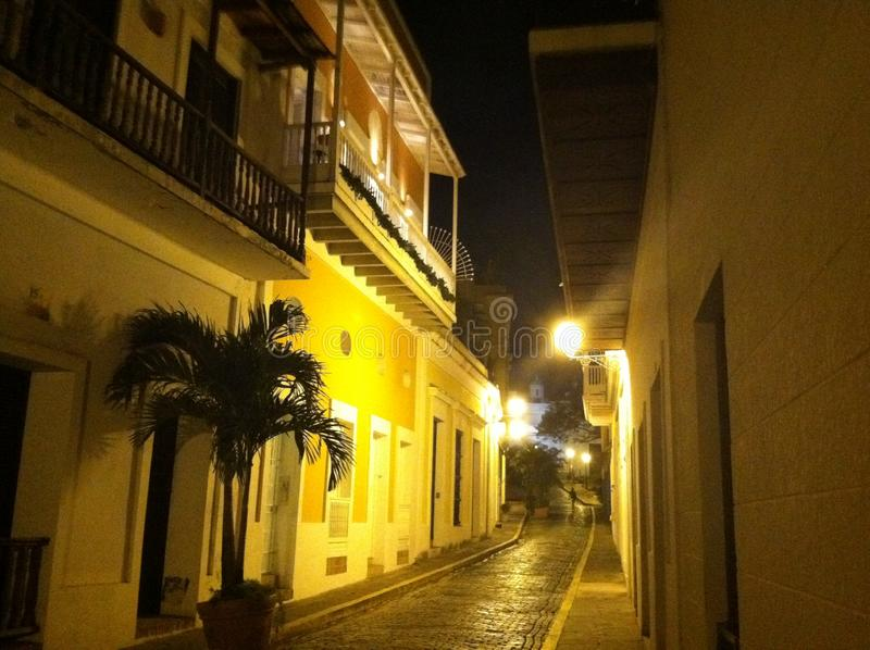 Старый Сан-Хуан, Пуэрто-Рико стоковое изображение