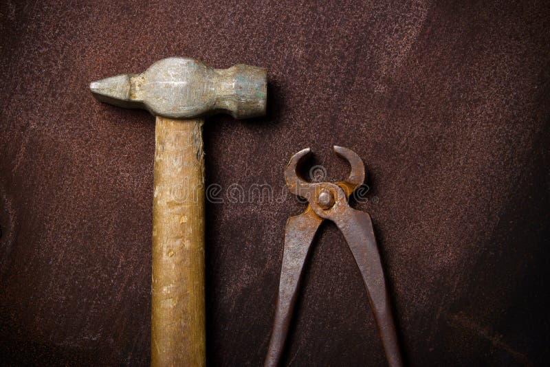 старый сбор винограда инструментов стоковые изображения rf