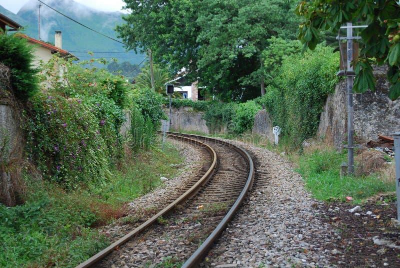 Старый след поезда стоковое фото