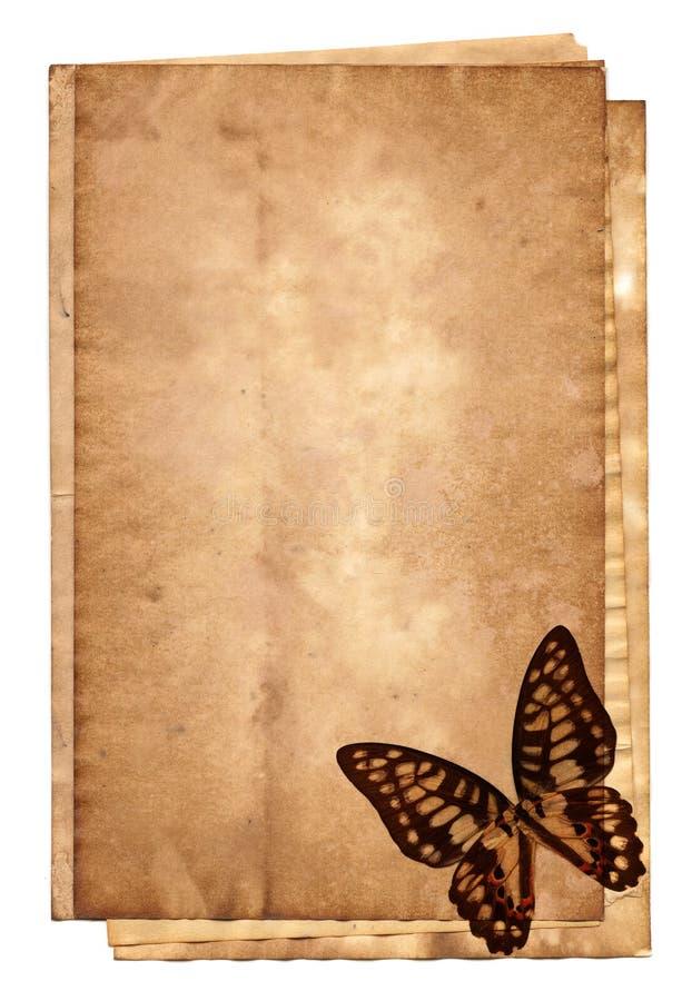 старый стог бумаг бесплатная иллюстрация