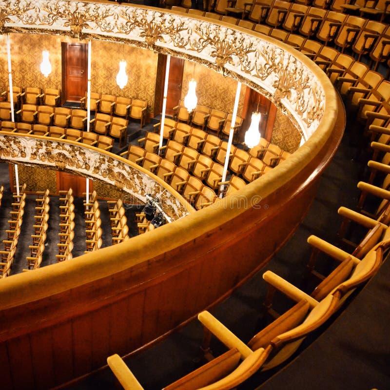 Старый театр стоковое фото rf