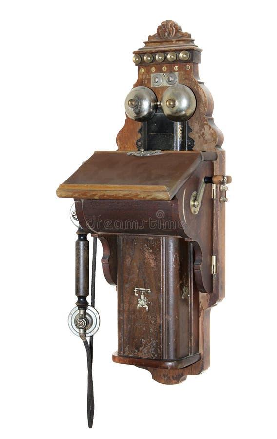 старый телефон стоковая фотография