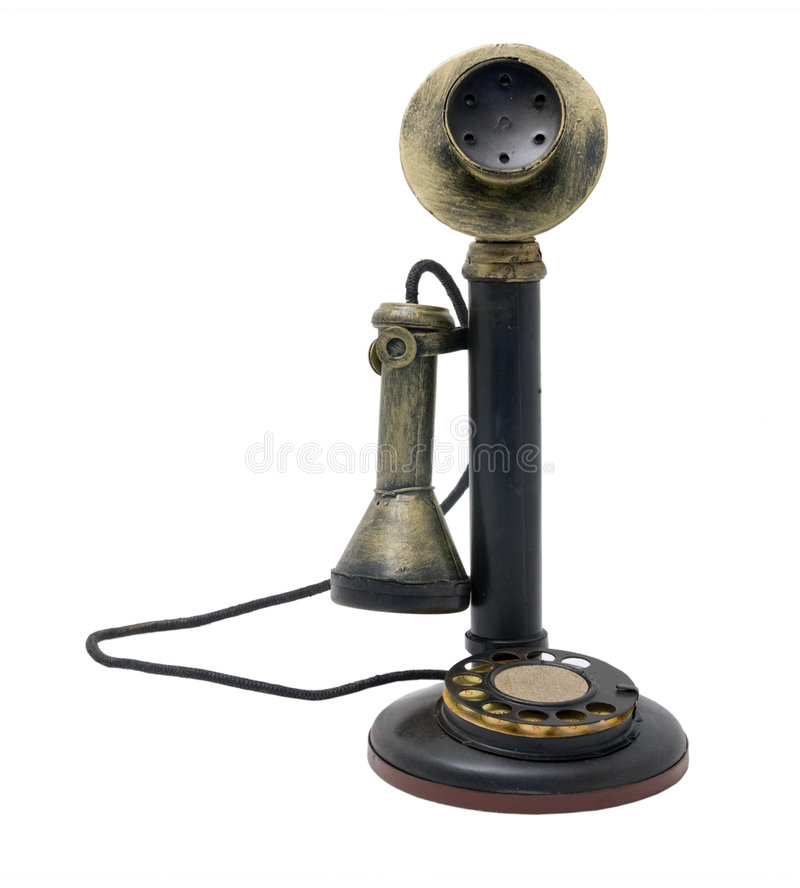 старый телефон стоковые фото