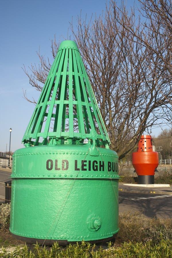 Старый томбуй Leigh, Leigh-на-Море, Essex, Англия стоковое изображение rf